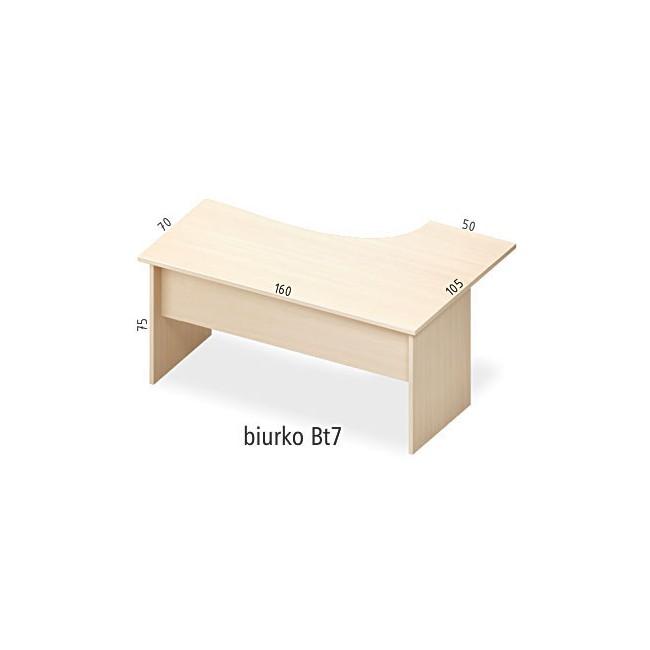 Biurko Bt7 lewe