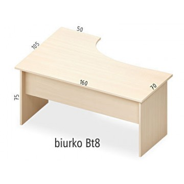 Biurko Bt8 prawe