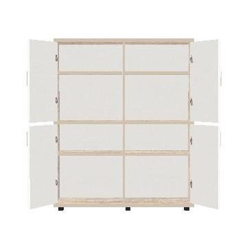 Szafa 4-drzwiowa z zamkami