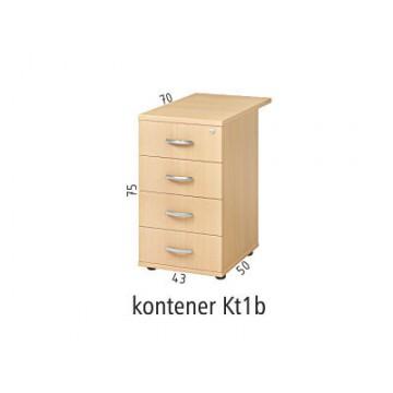 Kontener dostawny do biurka Kt1b