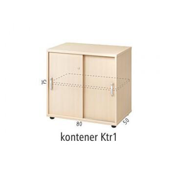 Kontener dostawny do biurka Ktr1
