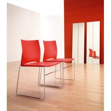 Krzesło ARIZ 550 V chrom / satyna
