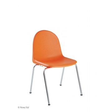 Krzesło AMIGO chrom