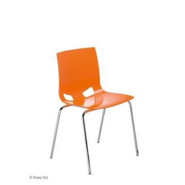 Krzesło FONDO PP chrom