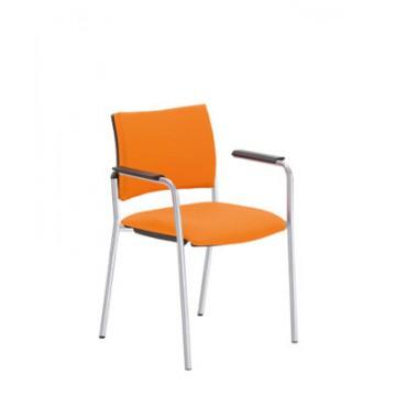 Krzesło INTRATA V-31-FL-ALU-arm