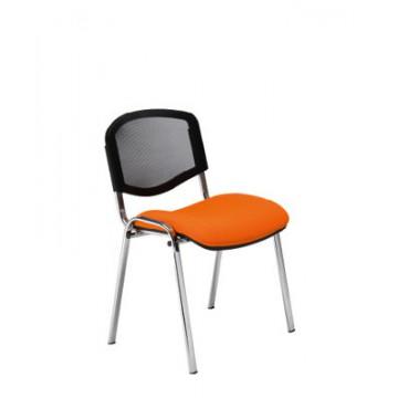 Krzesło ISO ERGO mesh chrom