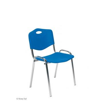 Krzesło ISO plastic chrom