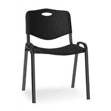 Krzesło ISO plastic black