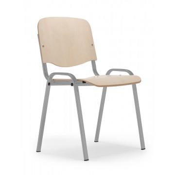 Krzesło ISO wood alu