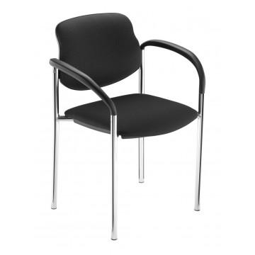 Krzesło STYL arm chrom