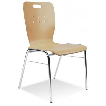 Krzesło WING II 20 chrom