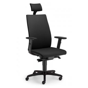 Biurowy fotel obrotowy z zagłówkiem INTRATA