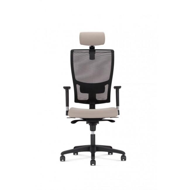 Biurowy fotel obrotowy Z-BODY TRADE z zagłówkiem