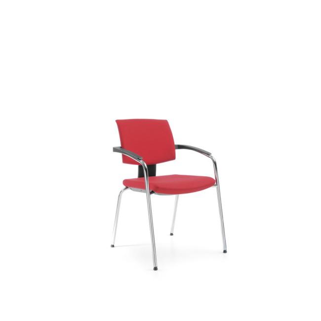 Krzesło XENON 20H 2P chrom/satyna