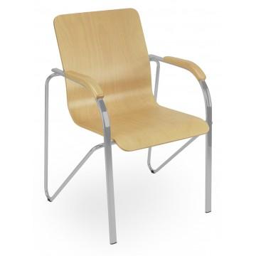 Krzesło SAMBA wood alu