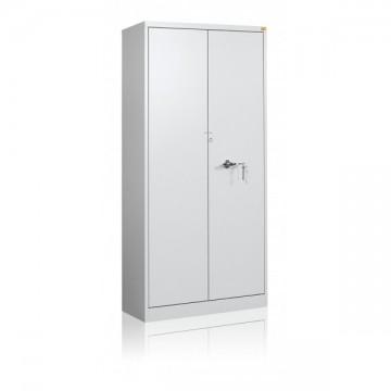 Wzmocniona szafa biurowa 5-półkowa, 2-drzwiowa przeznaczona jest do przechowywania dokumentów niejawnych RODO 2018