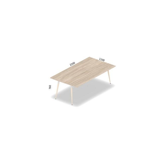 Stół konferencyjny 220 x 100 cm