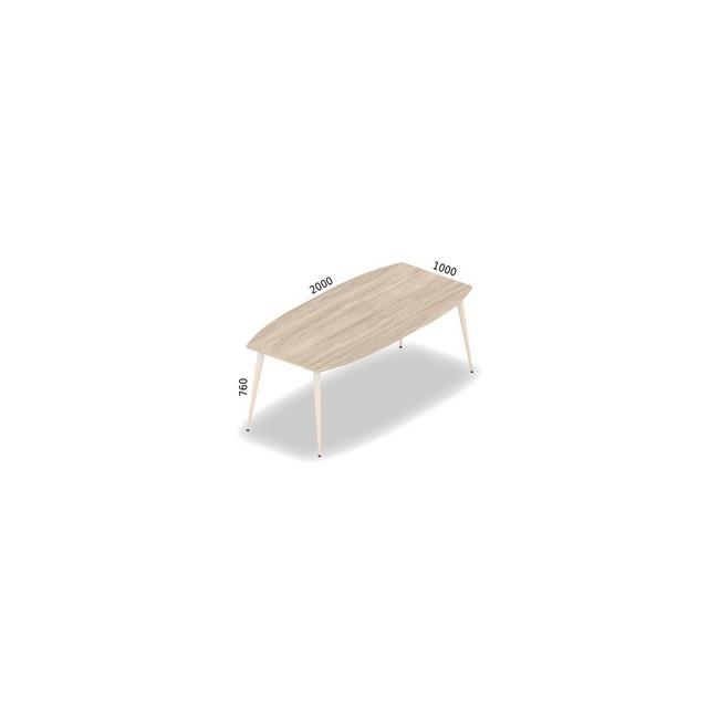 Stół konferencyjny 200 cm x 100 cm