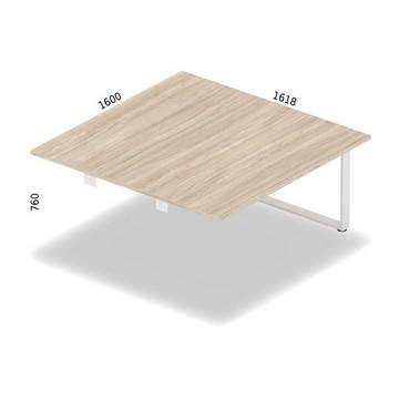 Stół konferencyjny , moduł  dostawny środkowy 160 x 162 cm