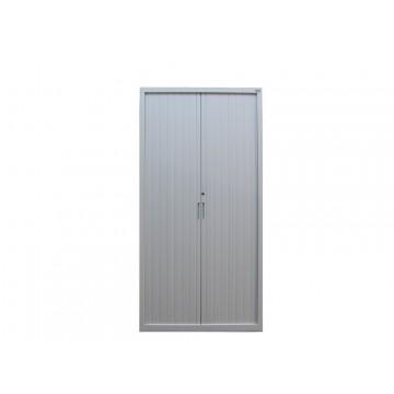 Metalowa szafa RODO aktowa, z drzwiami żaluzjowymi
