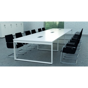 Stół konferencyjny, moduł końcowy 160 cm x 162 cm